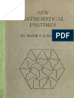43706797 New Mathematical Pastimes
