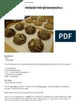 LCHF Recept - Fikabröd med choklad och pistachenötter