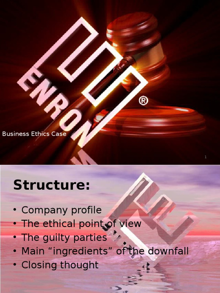 enron ethics case Kenneth lay - enron  enron's downfall, and the imprisonment of several of its leadership group, was one of the most shocking and widely reported ethics violations of all time.