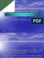 MetOne BAM-1020 Basic Presentation
