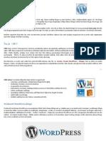 Wordpress Uputstvo