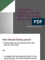 A Disneyland Dilemma