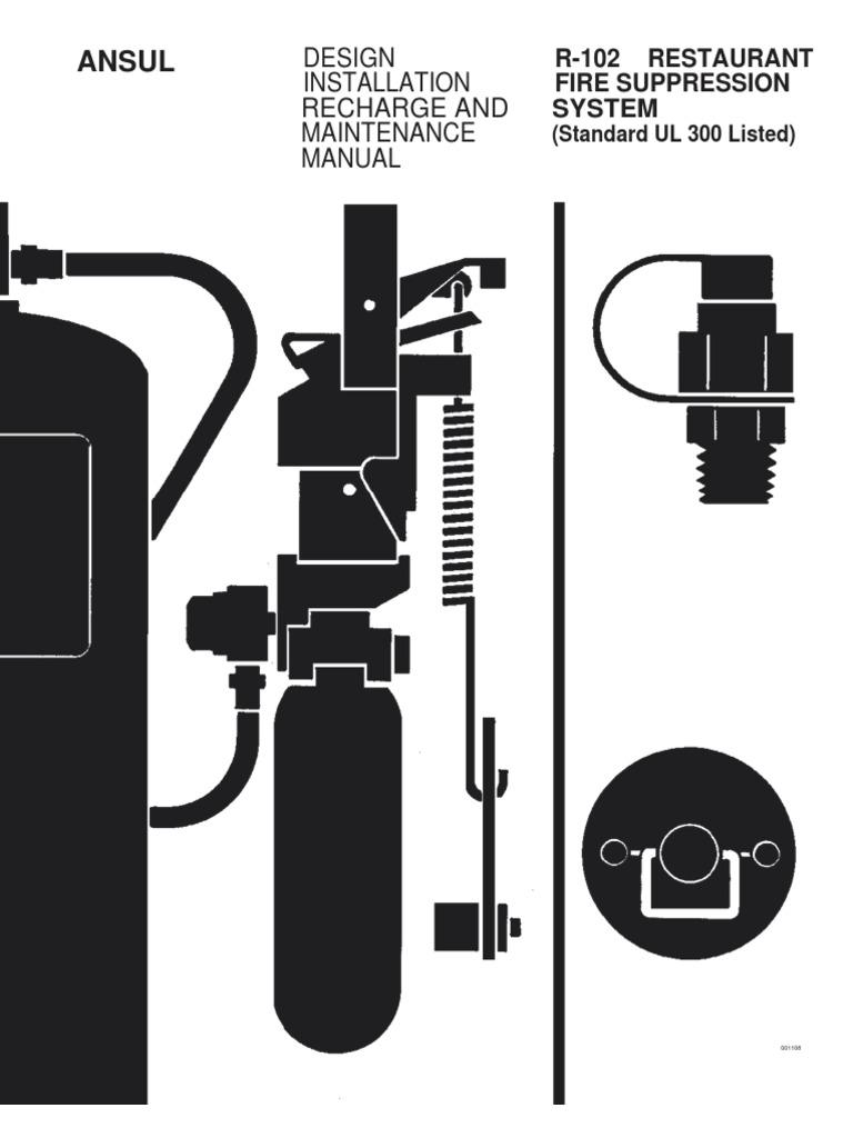 ansul system certification, ansul valve specs, ansul stations, ansul system  installation, kitchen