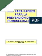 Homosexualidad Guia Padres Nicolosi