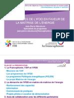 Presentation IFDD 2013