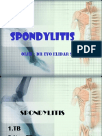Spondylitis Tb