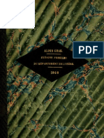 GRAS a 1848_Oursins Fossiles Du Departament de L'Isere