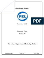 Internship Report of Pak Elektron Limited