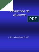 Curso Metrología_Redondeo numeros