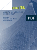Transformational CEOs_ Leadership and Management Success in Japan-Edward Elgar Publishing (2005)