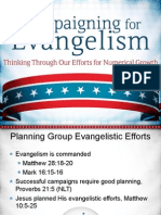 Campaigning for Evangelism
