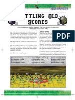Settling Old Scores extra homebrew rules for Blood bowl tournaments