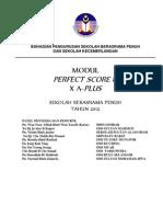 Perfect Score Chemistry SBP 2012 - Module