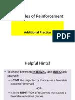 schedules of reinforcement additional prac