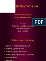 Administrative Law 2003