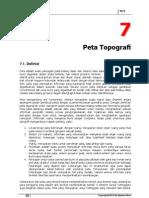 Bab 7 Peta Topografi