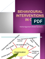 Behavioural Interventions in Od Final