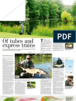 Trout Fisherman Caledonia Pike Tube Article August 2013