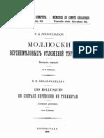 k3 Mollusques Turkestan Arkhangelski 1916