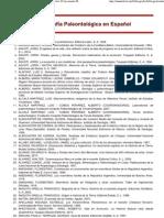 Paleo_Bibliografia en español