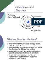 Quantum Numbers Structure 2