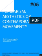 Perromat - Plagiarism Ahesthetics or Contemporary Movement