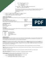 dewitt trig-analysis of functions syllabus