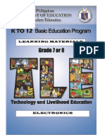 Ia- Electronics Lm Grade 7 & 8 p&d