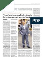 03 agosto Román Rodríguez analiza la situación de Gran Canaria
