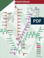 Mrt Lrt System Map