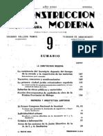 La Construcción moderna. 1-5-1934, no. 9