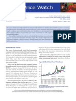 WB, Food Price Watch, March 2013