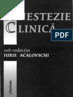 Anestezie clinica