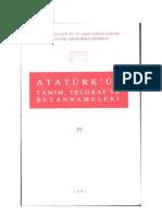 Atatürkün Tamim Telgraf ve Beyannameleri