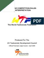 WTF Poomsae Rules UKTDC