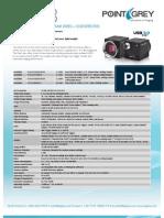 PointGrey Datasheet Flea3 USB3