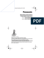 Panasonic KX-TG3612 DECT Phone Manual