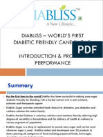 Diabliss - The world's first diabetic freindly cane sugar