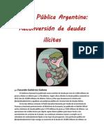 Deuda Pública Argentina