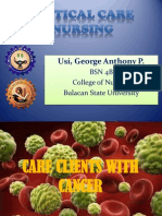 Care Clients With Cancer