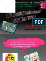 Anticoncepcion Oral de Emergencia