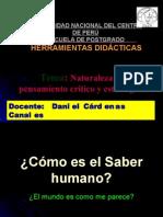 NATURALEZA DEL PENSAMIENTO CRÍTICO Y ESTRTEGICO  2009 i