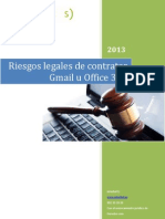 INTERBEL Riesgos Legales de Contratar Gmail u Office 365