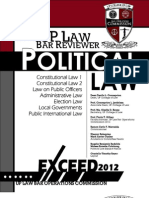 Political Law Up 2012