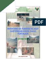 Fuente Agua Subterranea Fortaleza