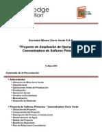 Ampliacion de Operaciones Cerroverde