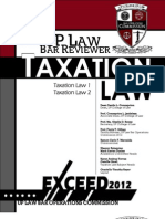Taxation Law Up 2012