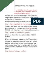 Mocvd Safety Precautions