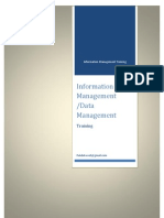 Information Management Training Course