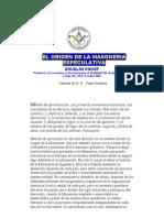 00824 Origen Masoneria Especulativa